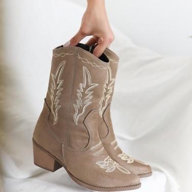 Limoya Çizme Vizon
